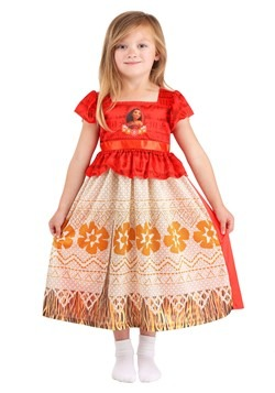 Toddler Girls Moana Fantasy Sleep Gown