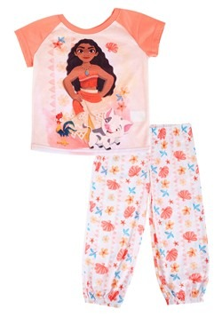 Girls Moana Shirt/Pant Sleep Set