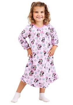 Girls Minnie Mouse Toddler Granny Gown Sleepwear