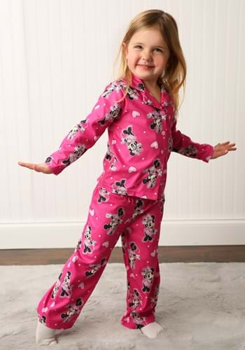Girls Happy Minnie Coat Style Sleep Set update 1