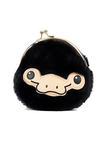 Fantastic Beasts Niffler Furry Kisslock Coin Pouch