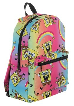 Spongebob Rainbow Print Backpack Alt 3