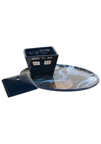 Doctor Who Tardis Vortex Plate & Soup Bowl Set