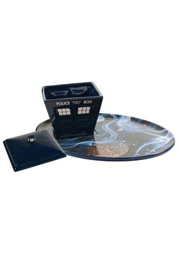Doctor Who Tardis Vortex Plate & Soup Bowl Set