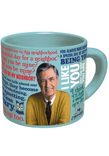 Mister Rogers Heat Activated Sweater Changing Mug