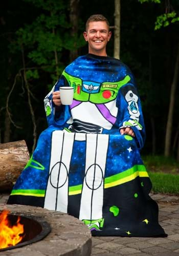 Toy Story Buzz Lightyear Adult Comfy Blanket Throw
