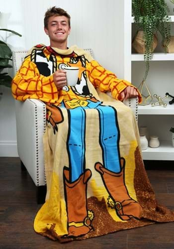 Toy Story Adult Woody Comfy Blanket Throw-update