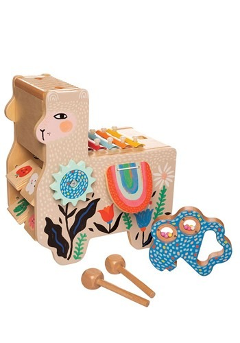 Lili Llama Musical Wooden Toy Instrument