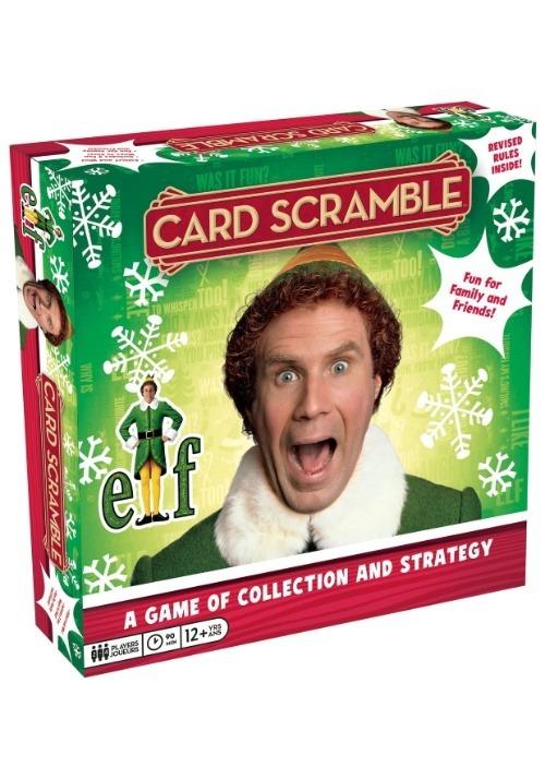 Buddy the Elf Card Scramble Game