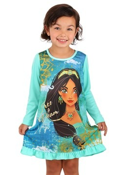 Girls Disney Jasmine Dorm Nightgown