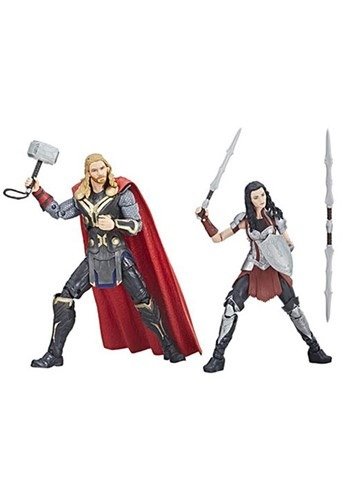 Marvel Legends Cinematic Universe 10th Anniversary Thor and