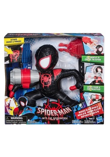 SpiderMan Into the SpiderVerse Shockstrike Miles Morales