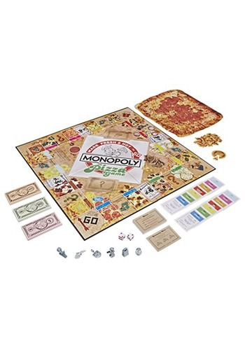 The Monopoly Pizza Board Game