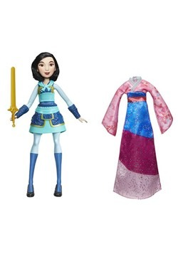 Disney Princess Fearless Adventure Mulan Doll