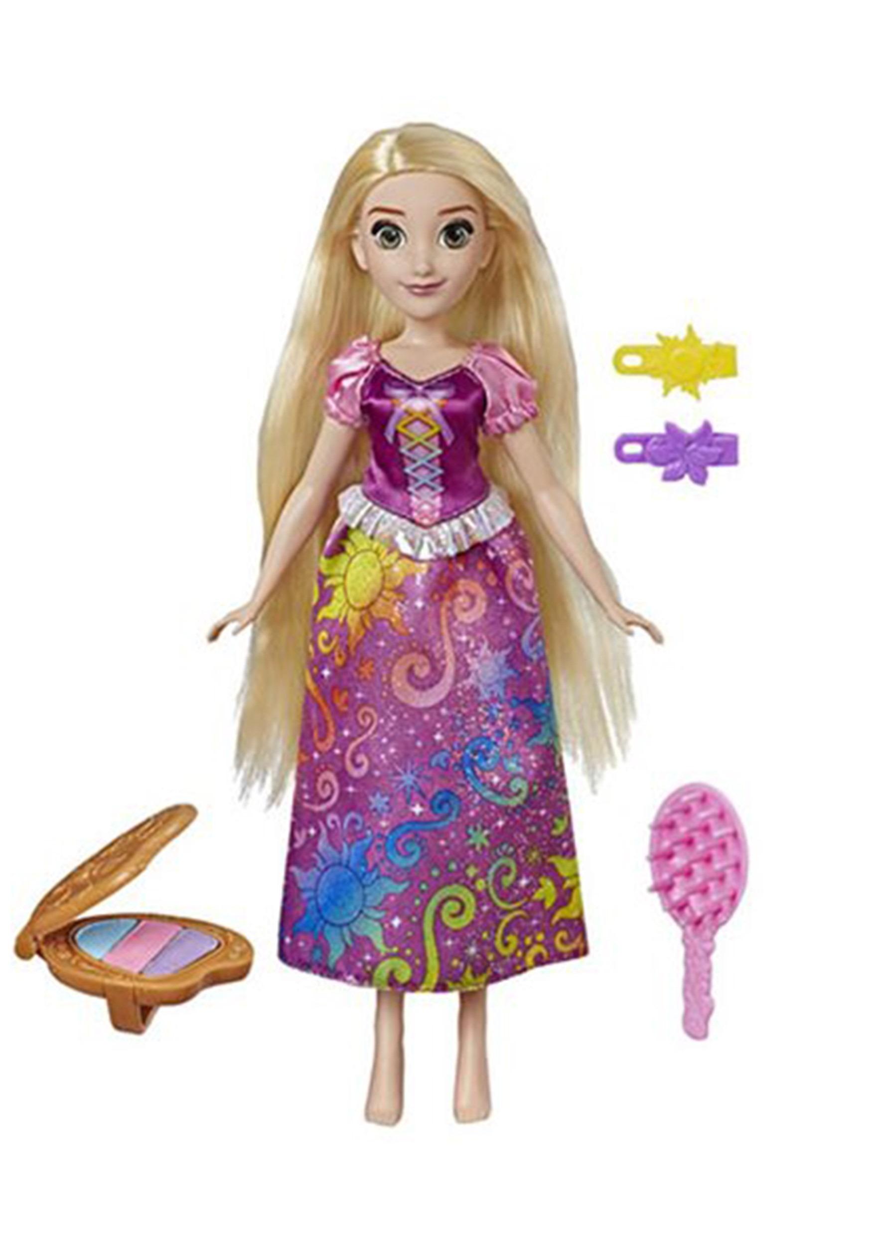 Disney Rapunzel Princess Rainbow Styles Hair Play Doll