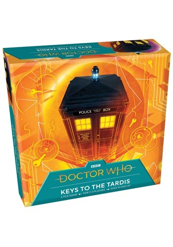 Doctor Who Keys to the Tardis Tile Game