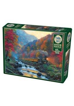 Smoky Train 1000 Piece Cobble Hill Puzzle
