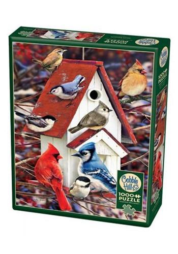 Winter Birdhouse 1000 Piece Cobble Hill Puzzle