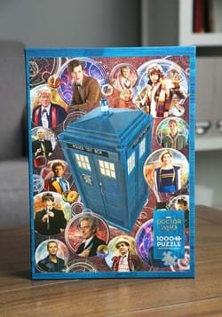 Doctor Who- The Doctors 1000 Piece Cobble Hill Puzzle