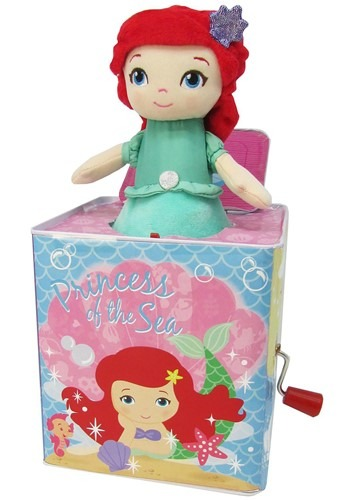 The Disney Princess Ariel Jack-in-the-Box