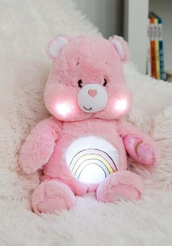 Care Bears Cheer Bear Soother Plush w/ Music & Lights