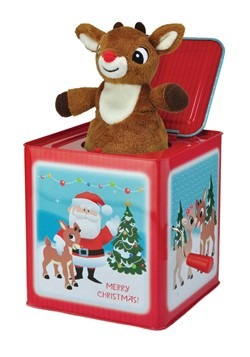 Rudolph the Red Nosed Reindeer Jack-in-the-Box