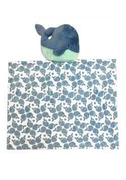 Rise & Shine Sleep Stuffs Whale Blanket