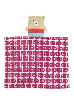 Rise & Shine Sleep Stuffs Bear Blanket