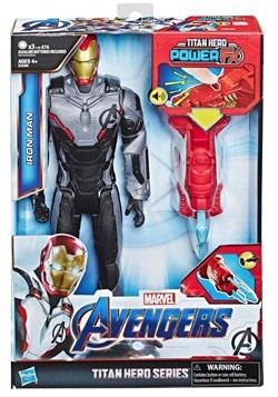 Avengers: Endgame Titan Hero Power FX Iron Man 12-Inch Acti