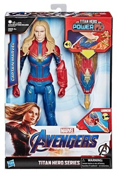 Avengers Endgame Titan Hero Power FX Captain Marvel Figure