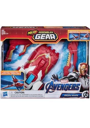 Marvel Avengers Endgame Iron Man Nerf Assembler Gear Gun