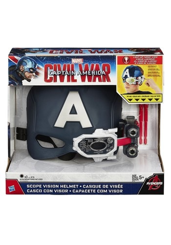 Avengers: Endgame Captain America Scope Vision Helmet