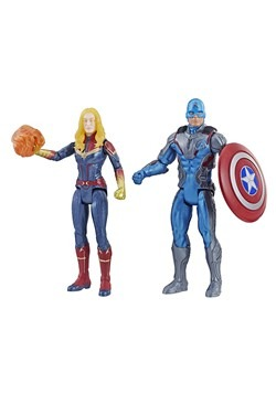 Avengers: End Game Captain America & Captain Marvel Action F