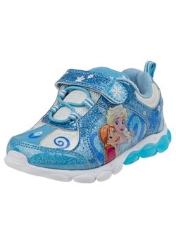 Frozen Girls Anna & Elsa Light Up Shoes