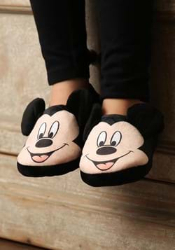 Mickey Mouse Face Slippers for Kids