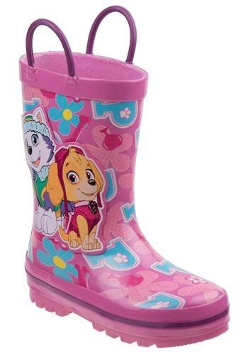 Paw Patrol Skye & Everest Child Rain Boots