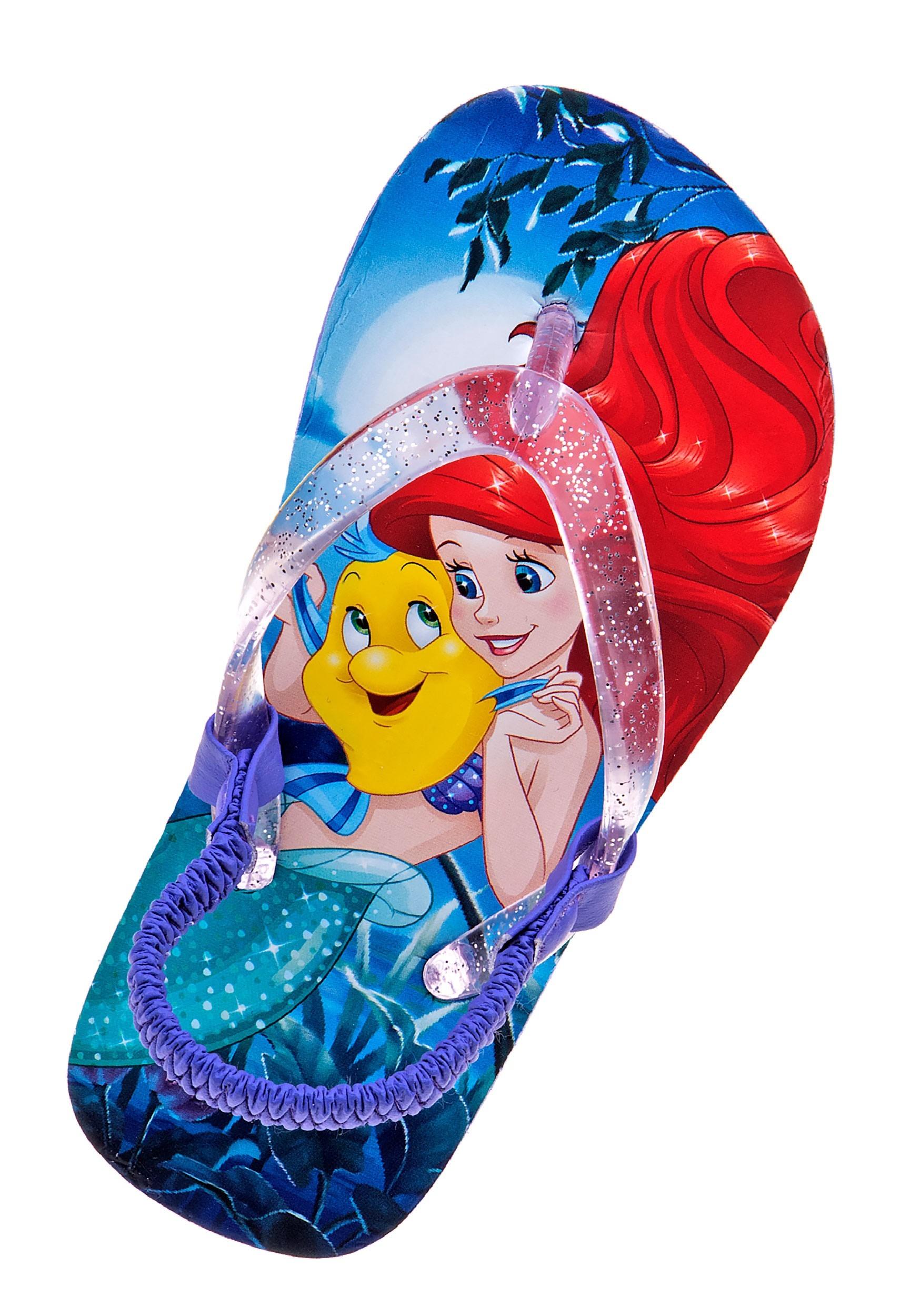 Disney Little Mermaid Girls Sandals