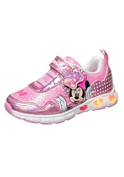 Girls Minnie Mouse Pink Sneakers