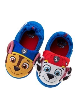 Paw Patrol Chase and Marshall Kid Slippers