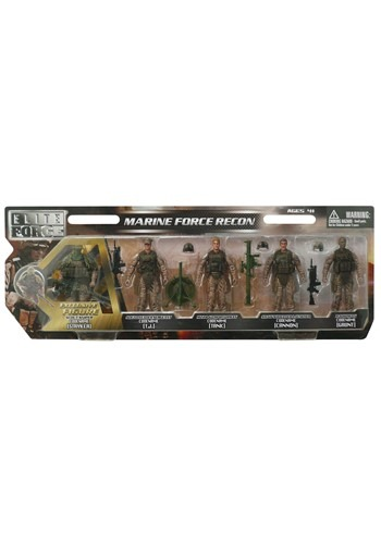 Marine Force Recon Figures 5-Pack