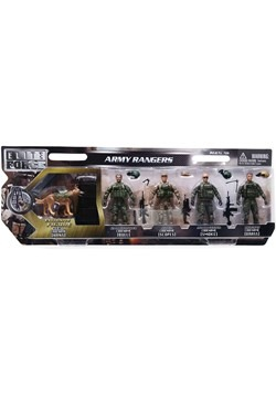 Army Ranger Figures 5-Pack