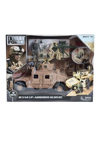 Humvee Vehicle w/ Figure