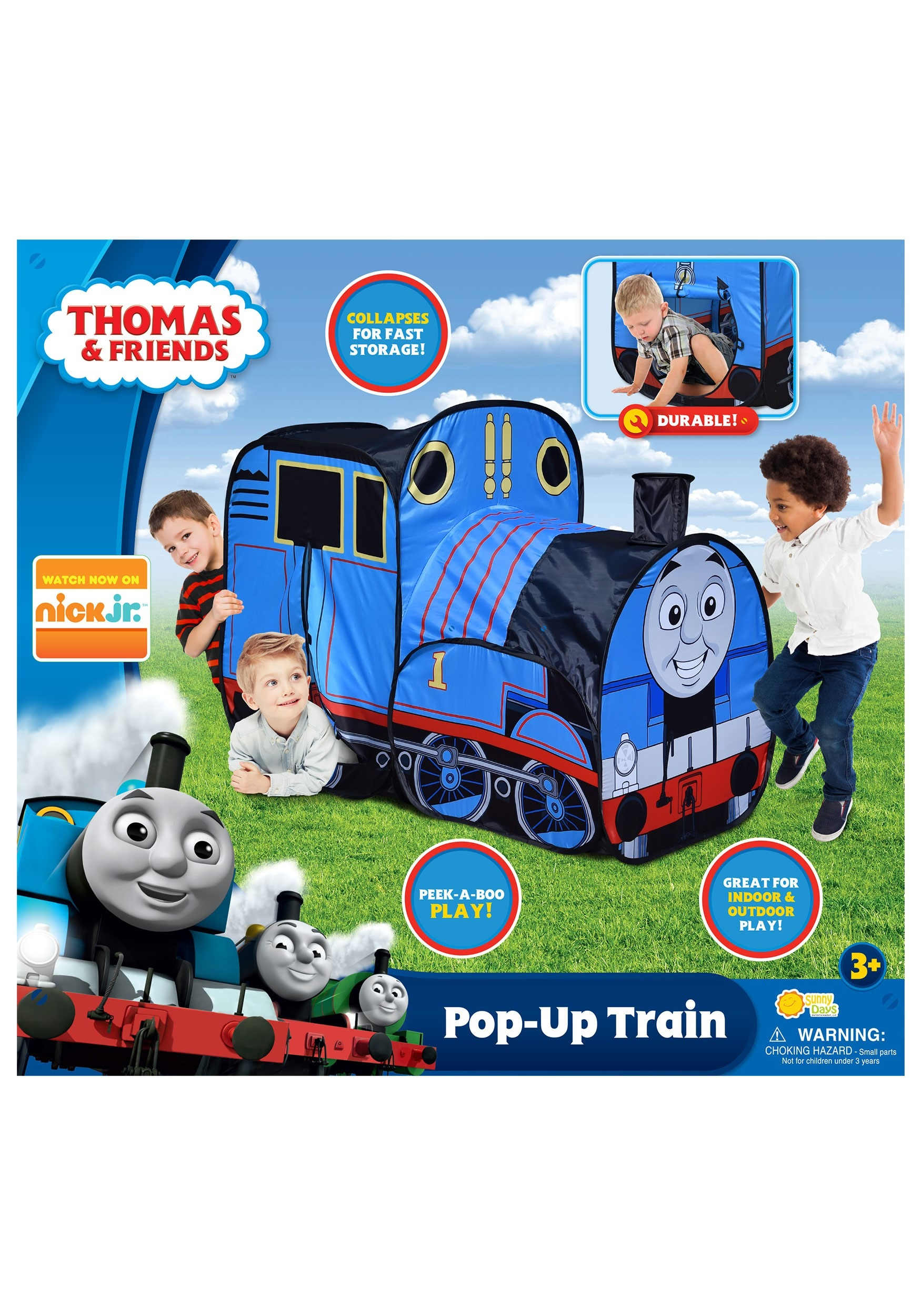 online store 17c88 c0c43 Thomas the Tank Engine Pop-Up Play Tent
