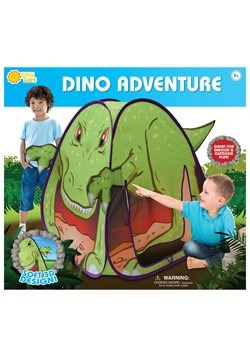 Dino Adventure T-Rex Pop-Up Play Tent