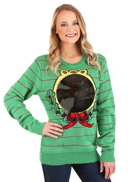 Adult Mirror Ugly Christmas Sweater