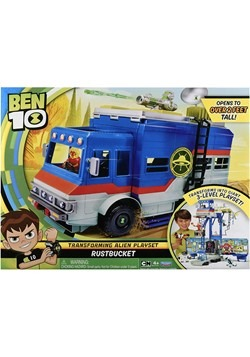Ben 10 Rust Bucket Deluxe Transforming Vehicle/Pla