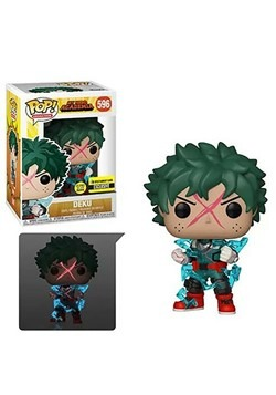 My Hero Academia Deku Full Cowl Glow-in-the-Dark Pop! Vinyl