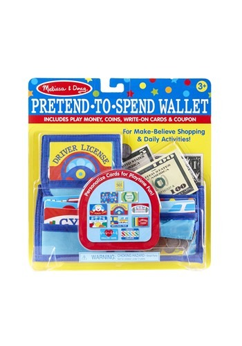 Pretend to Spend Melissa and Doug Play Wallet