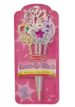 Melissa & Doug Dress Up Princess Wands (set of 4)