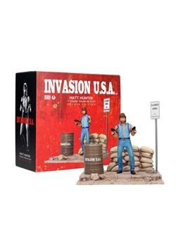 Chuck Norris Invasion USA Matt Hunter Figure w/ Diorama 1